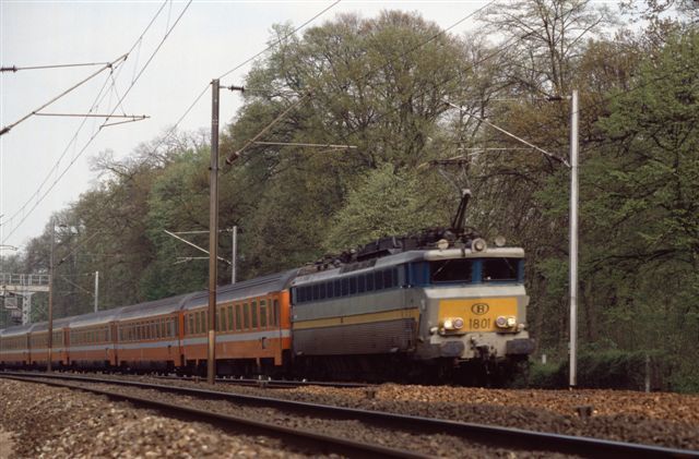 Locomotive belge série CC 40100