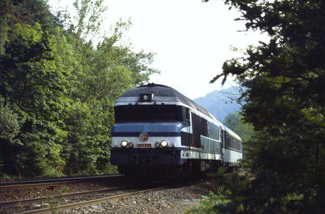 Locomotive CC 72071 rampe des Sauvages