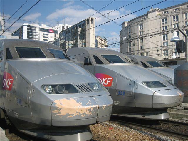 TGV Atlantique en gare Montparnasse