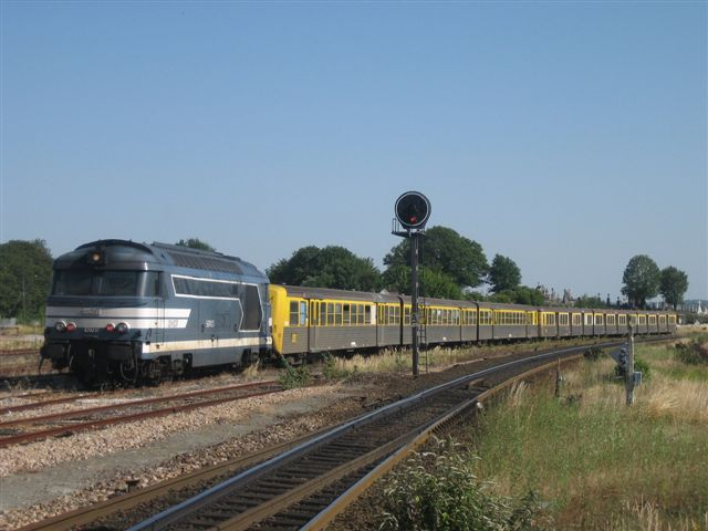 Locomotive BB 67423
