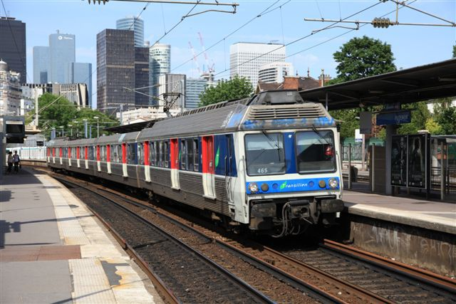 sncf and transilien and automotrice