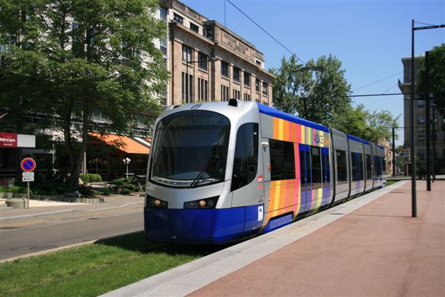 Tram train AVANTO U 25500 à Mulhouse