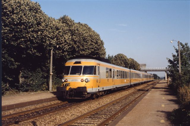 Turbotrain RTG à Romilly Puthenaye