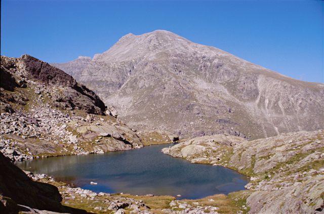 Lac du Trem et Mont Bego
