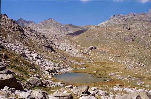 Lac Mouton et Pas de l'Arpette