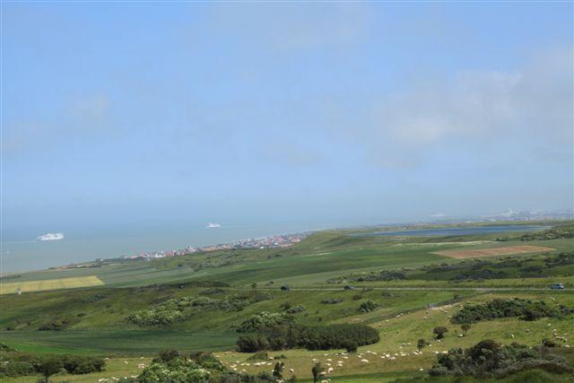 Panorama depuis cap Blanc Nez