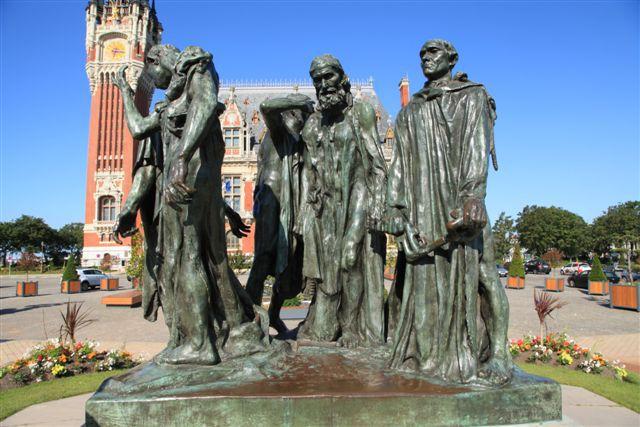 Rodin : les bourgeois de Calais