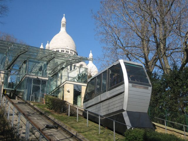 Funiculaire Butte Montmatre