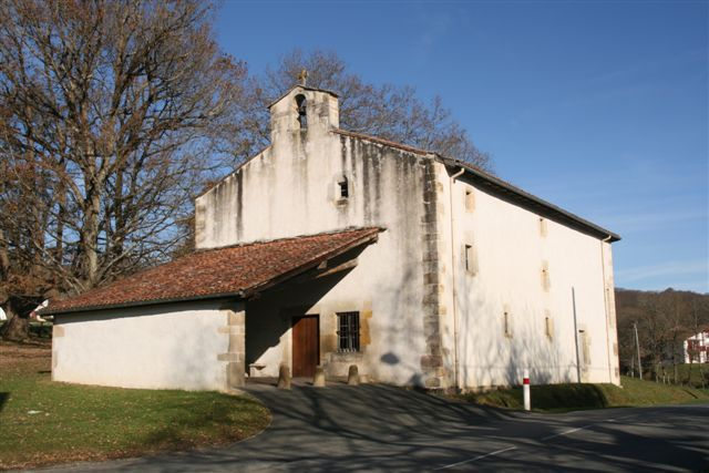 Sare: chapelle Sainte Catherine