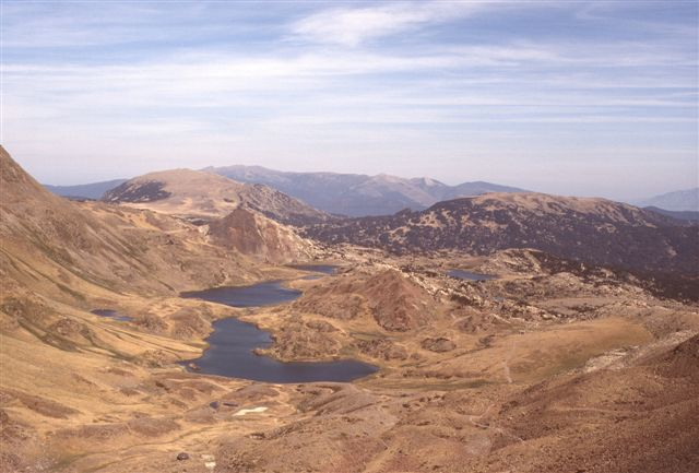 Lac de Sobirans et Trebens