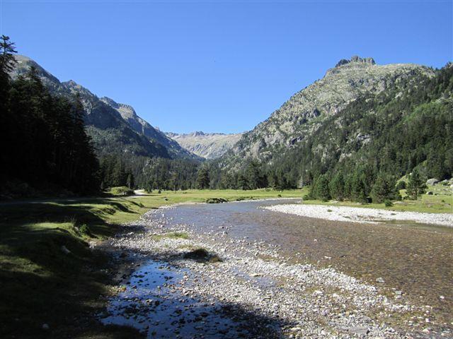 Vallée Marcadau plateau du Cayan