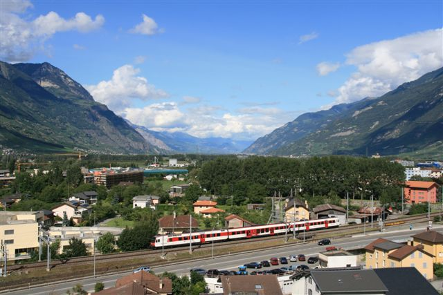 Train suisse Martigny