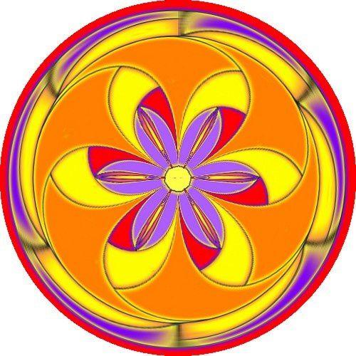 mandala moulin à fleurs 2