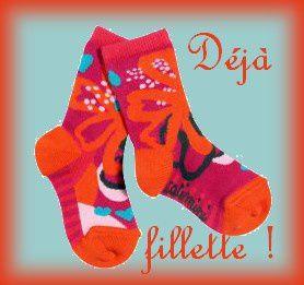 chaussettes fillette