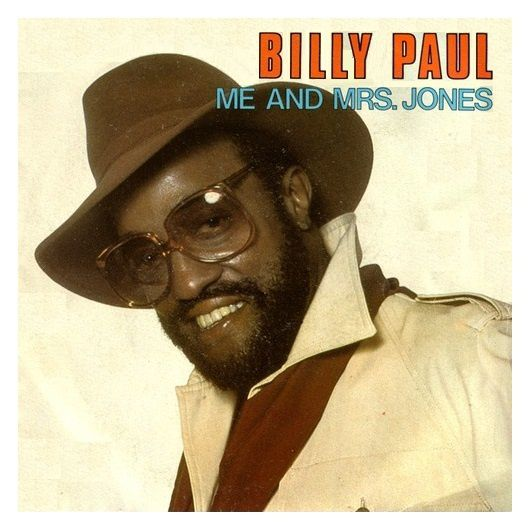 Billy Paul - 1972 - Me and Mrs. Jones - Cover