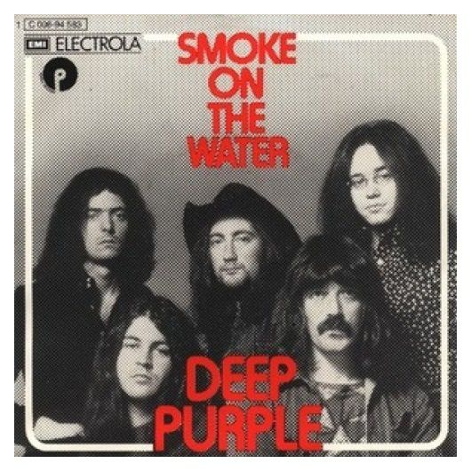 Deep Purple - 1973 - Smoke on the water - Cover