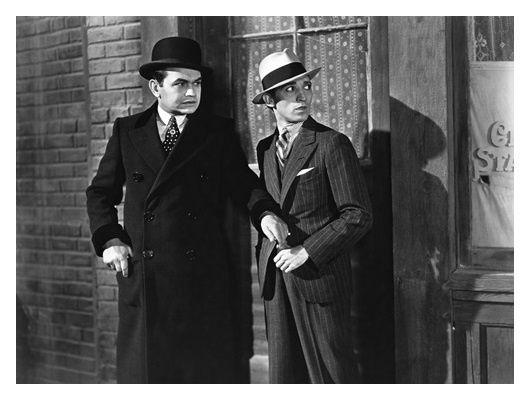 Chapeau melon - Edward G. Robinson - George E. Stone
