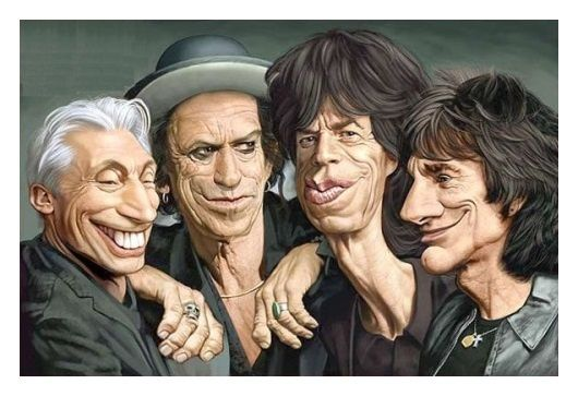 Charlie Watts, Keith Richards, Mick Jagger, Ronnie Wood (Mi