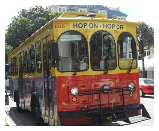 Floride - 003 - Bus touristique à Fort Lauderdale