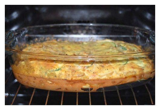 Omelettes aux oignons et aux courgettes - 03