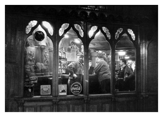 Willy Ronis - Au café - Paris