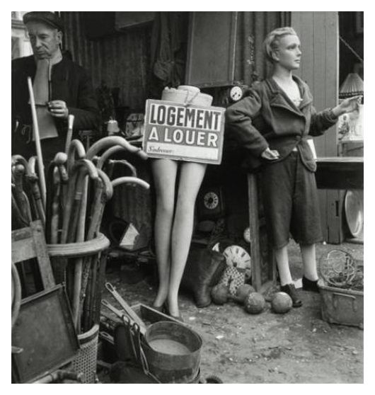 Willy Ronis - La brocante - Paris