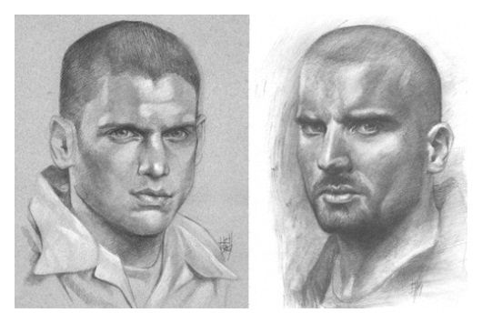 Wentworth Miller & Dominic Purcell - (Hellbay)