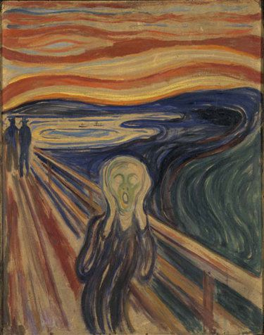 Le cri by edvard Munch 1893