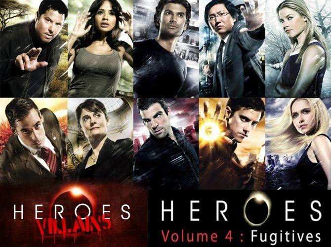 heroes saison 3 tome 3 generations et tome 4 fugitives dreamick movies. Black Bedroom Furniture Sets. Home Design Ideas