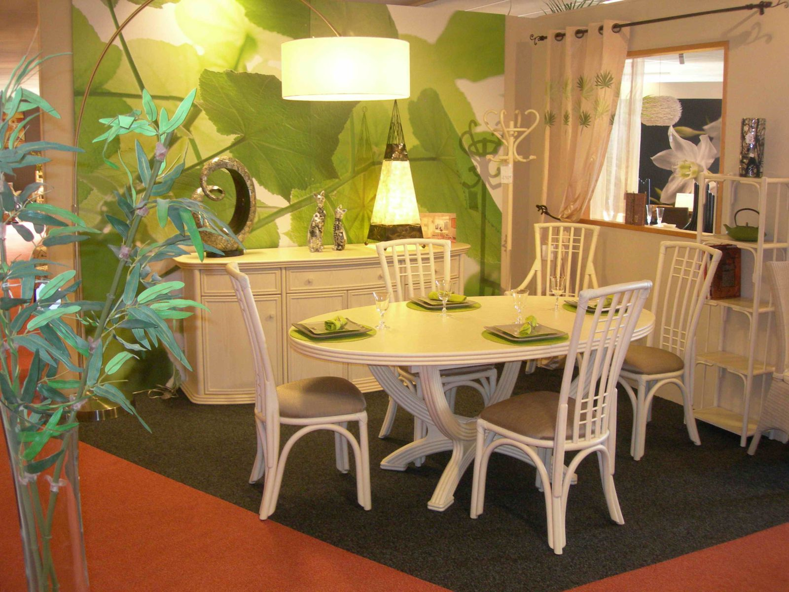Album sejours exodia home design tables ceramique for Meubles salle a manger rotin