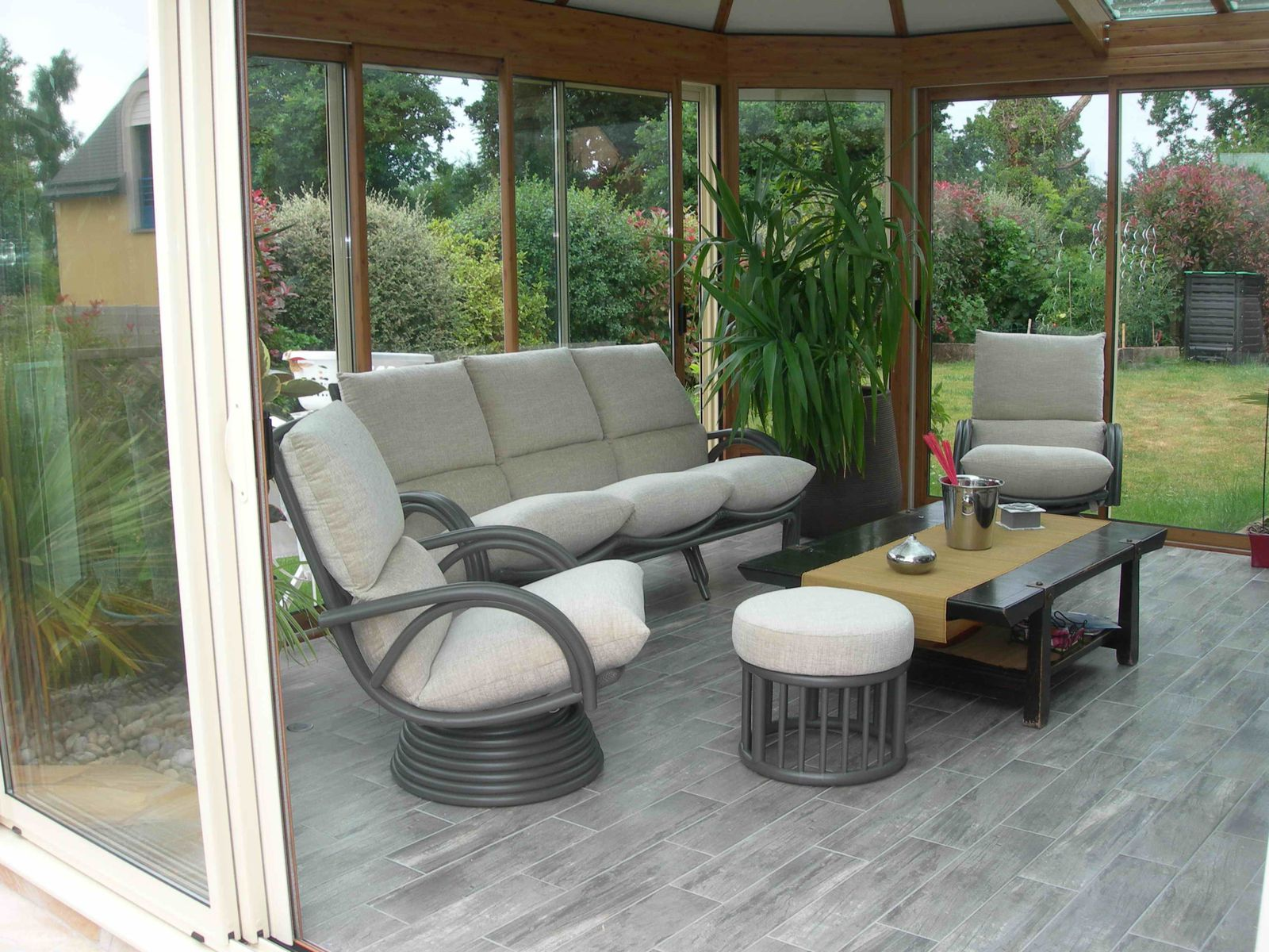 Album Meubles De Veranda Exodia Home Design Tables Ceramique  # Modele De Meuble Pour Salon