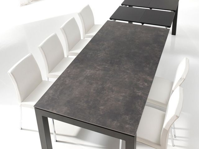 Album tables ceramique extensible exodia home design tables ceramique canapes salons tissu - Table rectangulaire a rallonge ...
