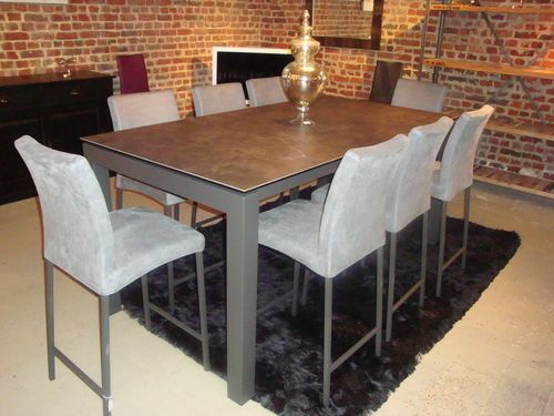 Album tables ceramique extensible exodia home design for Table sejour extensible design