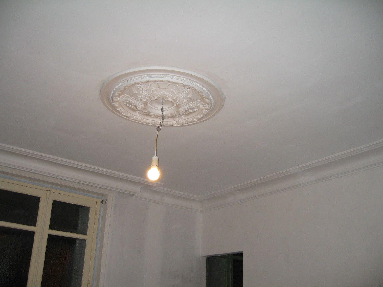 R novation d 39 une maison de ville les travaux r alis s for Fond plafond platre