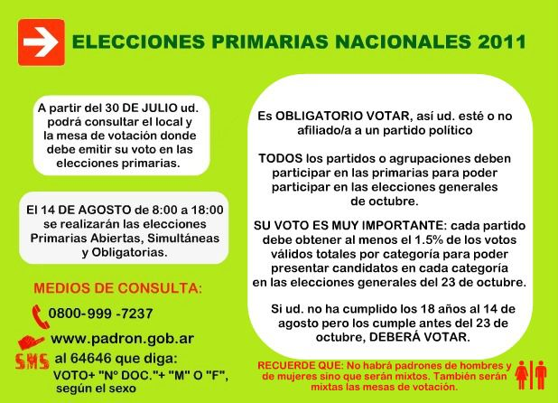 instructivo elecciones primarias 1