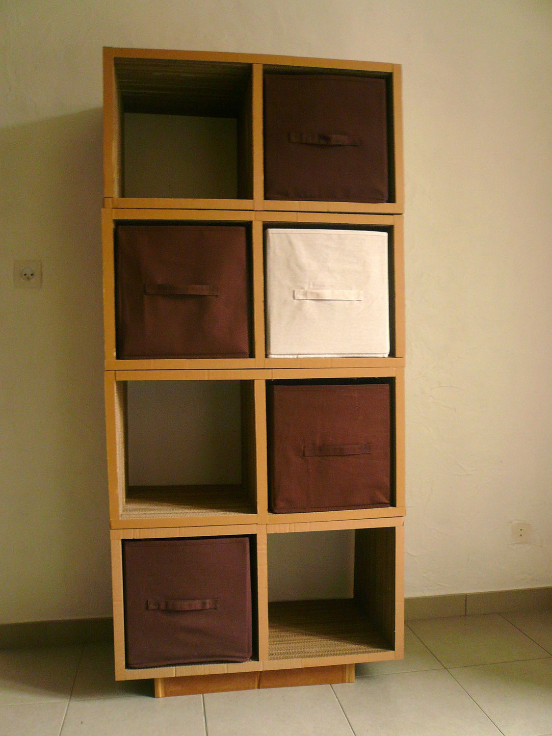 Customiser meuble ikea cube sammlung von for Meuble kallax blanc