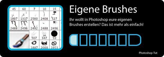 photoshop eigene brushes