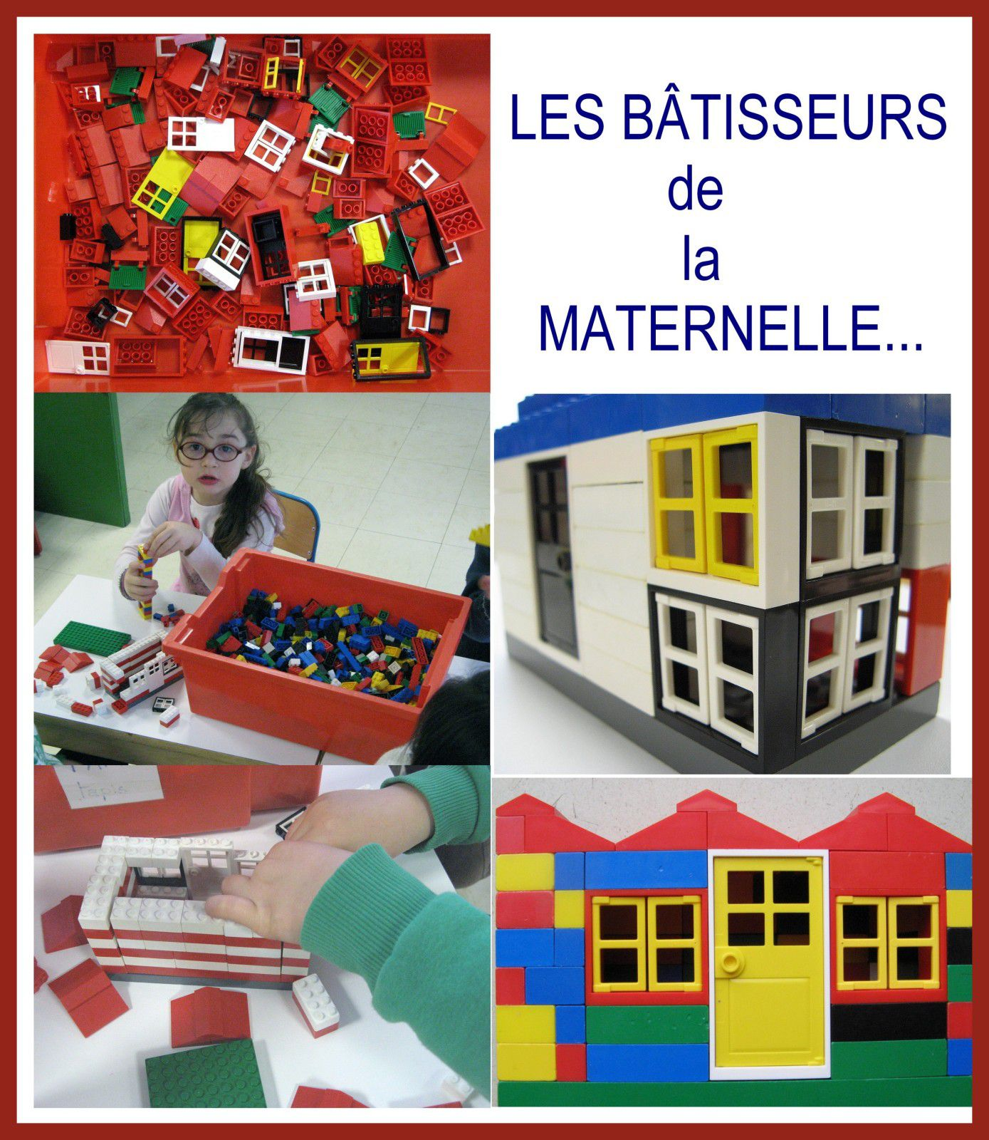 les b tisseurs de la maternelle le blog de profdematernelle. Black Bedroom Furniture Sets. Home Design Ideas