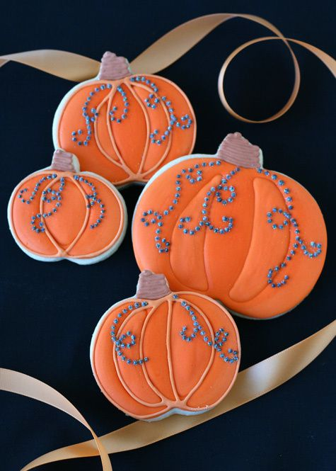 Jeweled-pumpkin-cookies