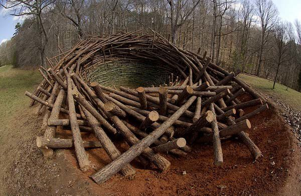 how to make a giant bird nest bed