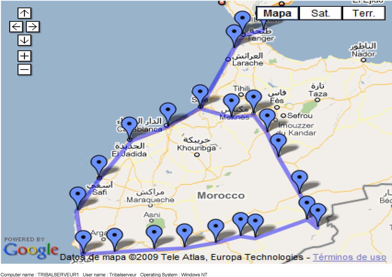 voyage maroc moto