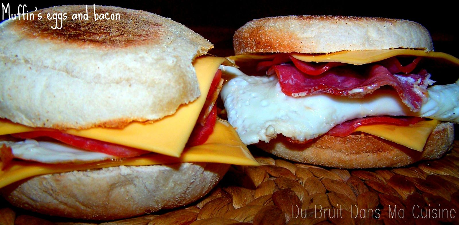 Muffin 39 s eggs and bacon du bruit dans ma cuisine - Du bruit dans ma cuisine ...