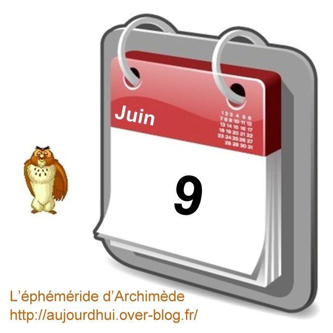 éphéméride 9 juin