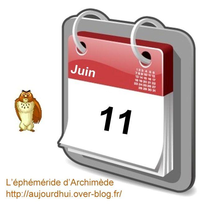 éphéméride 11 juin