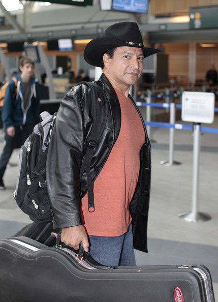 Gil Birmingham Catching Flight Vancouver Airport