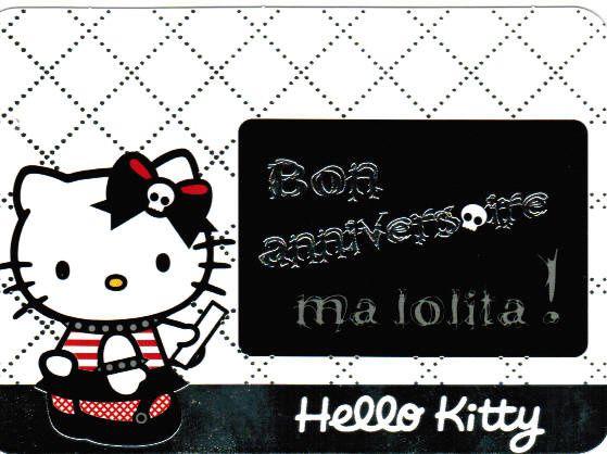 CP à échanger : Hello-Kitty