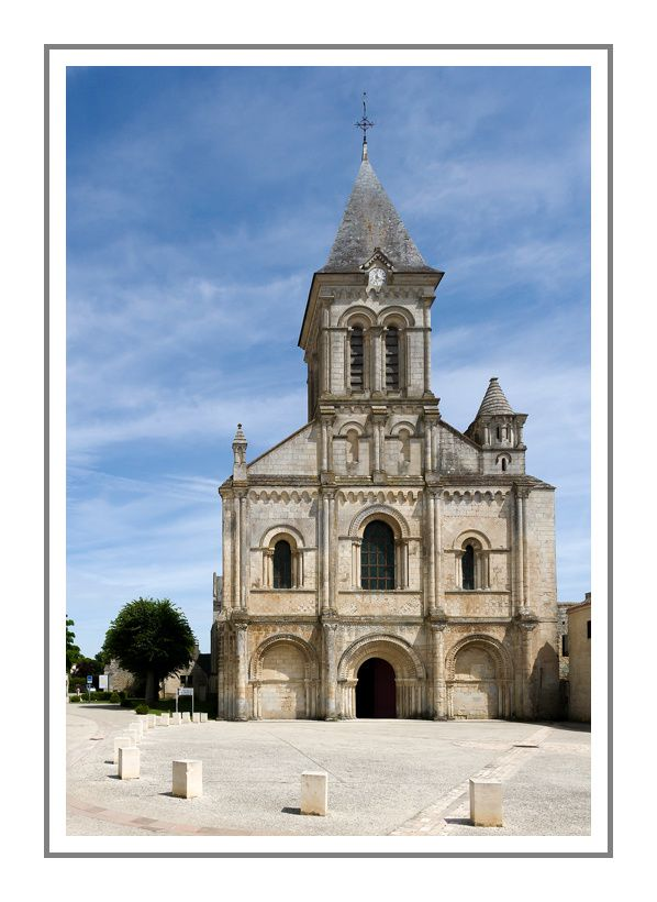 Les abbayes de Maillezais et Nieul sur Autise