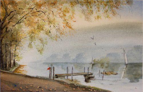 aquarelle Denis Delorme
