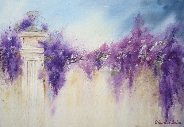 aquarelle Chantal Jodin