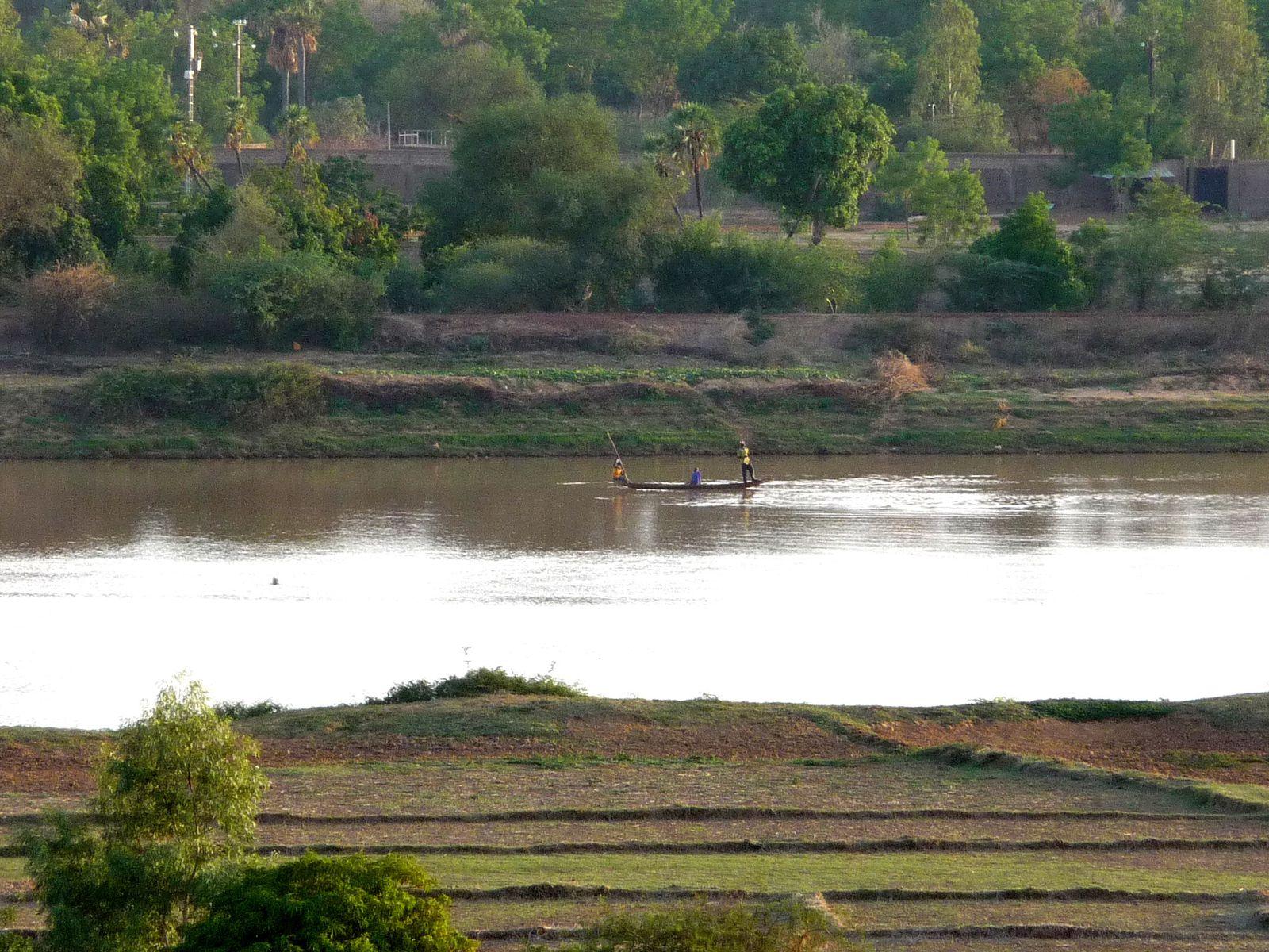 pyrogue sur le fleuve niger
